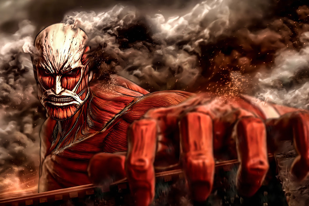 Attack on Titan Manga Poster