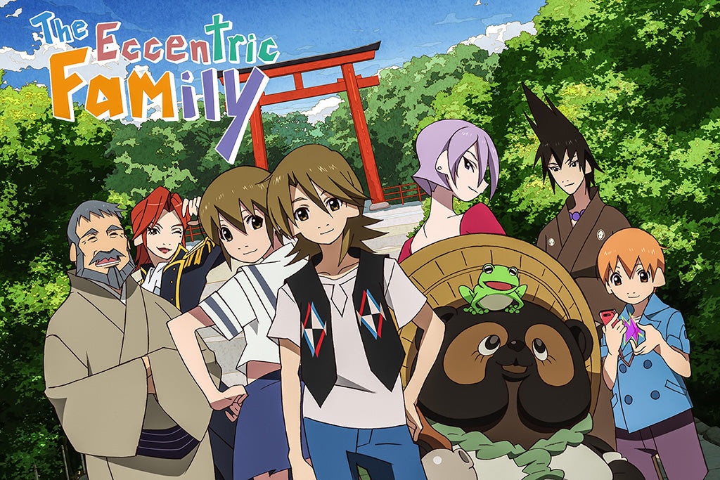 The Eccentric Family Novel Poster