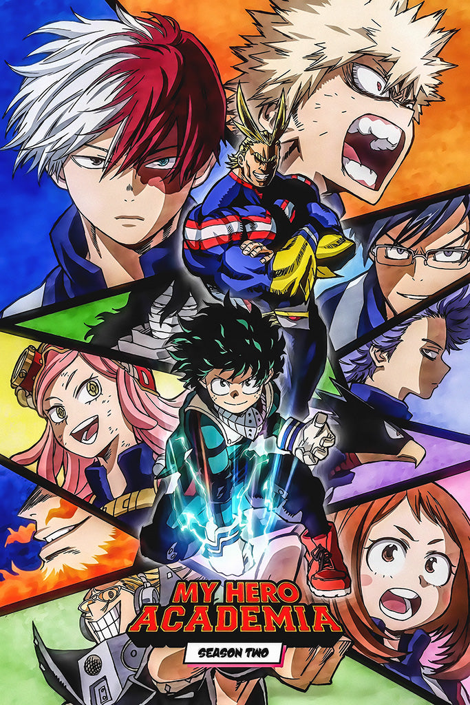 My Hero Academia Anime Poster