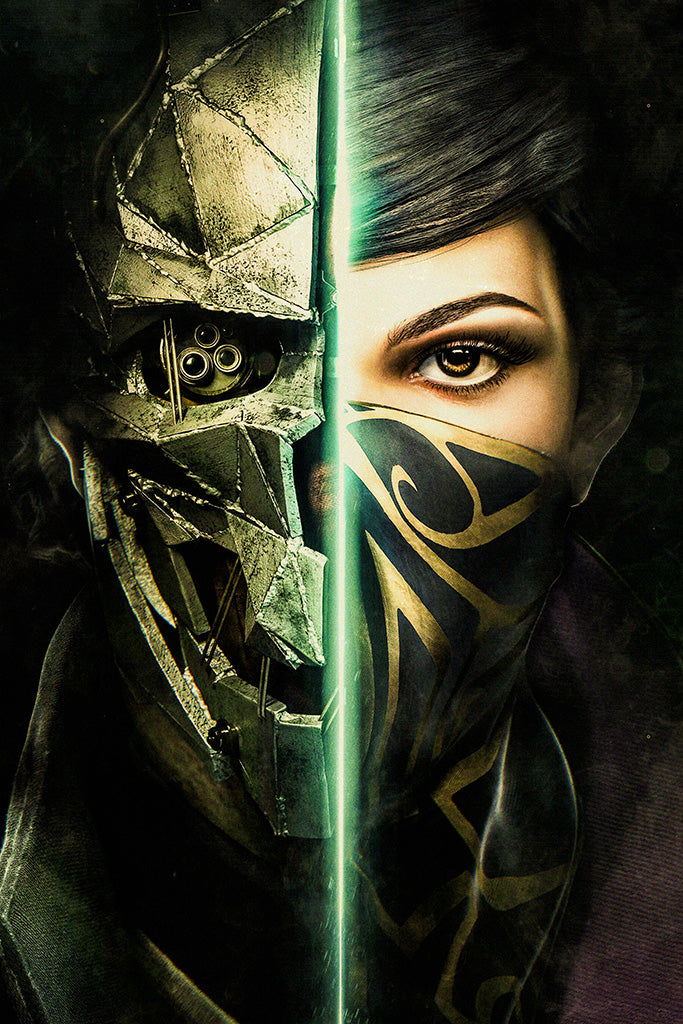Dishonored Game Poster