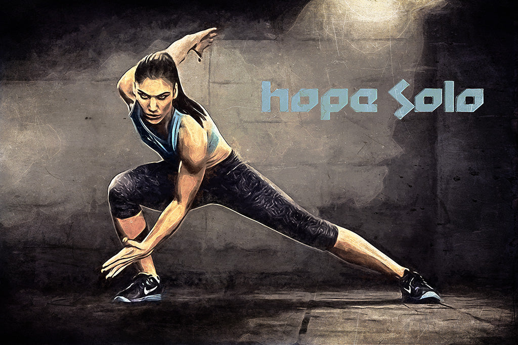Hope Solo Art Poster