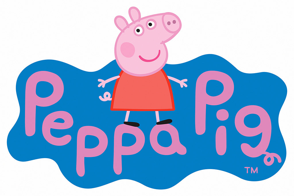 Peppa Pig Animated Series Poster