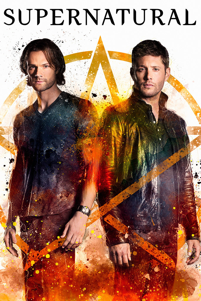 Supernatural Art Poster