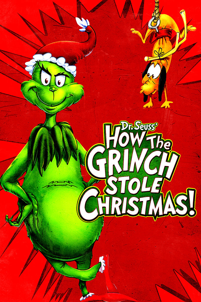 Dr Seuss How the Grinch Stole Christmas Poster My Hot