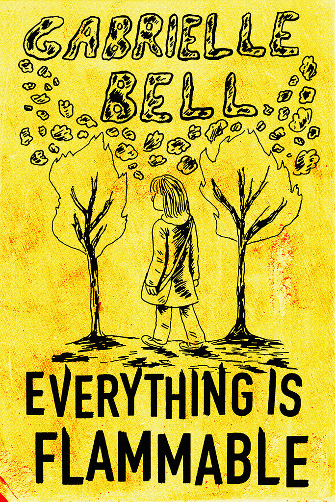 Everything Is Flammable Comics Poster