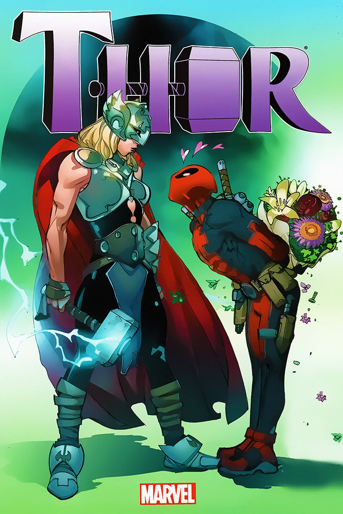 The Mighty Thor Comics Poster
