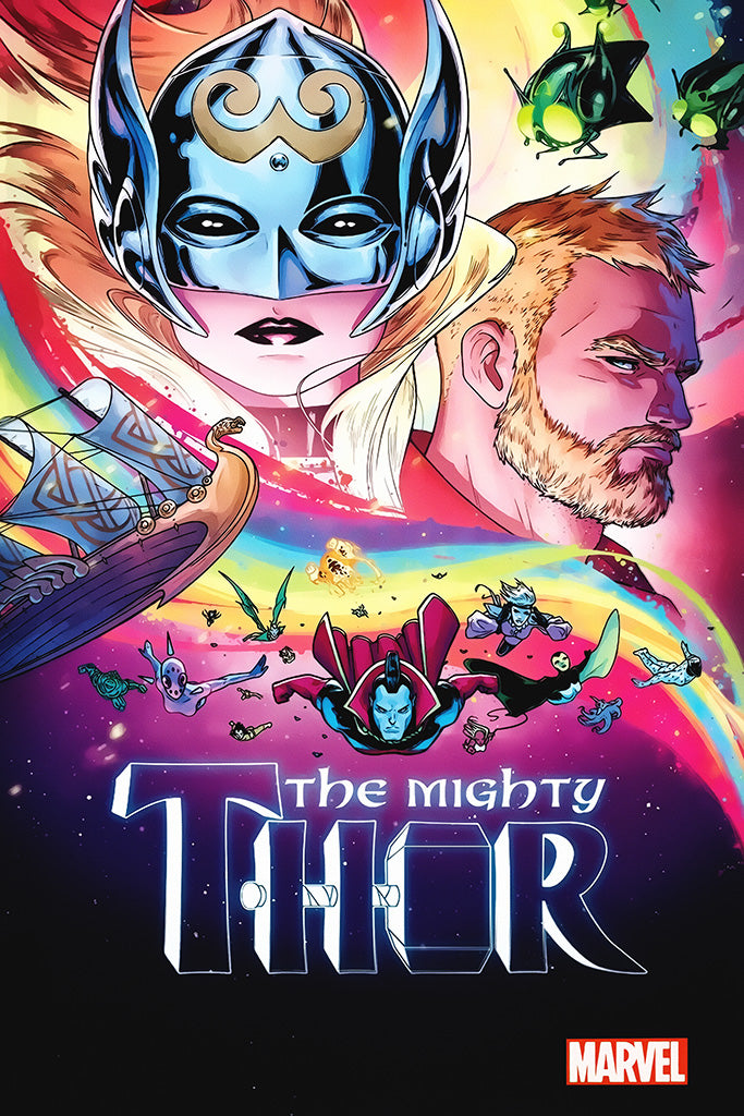 The Mighty Thor Comics Art Poster