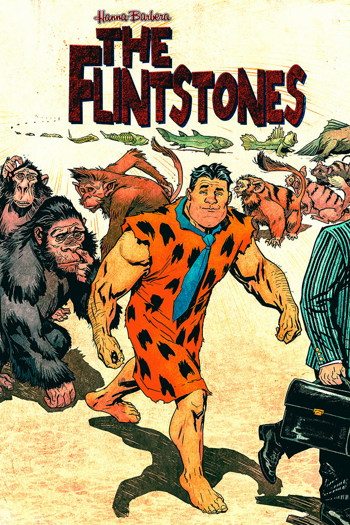 The Flintstones Art Poster