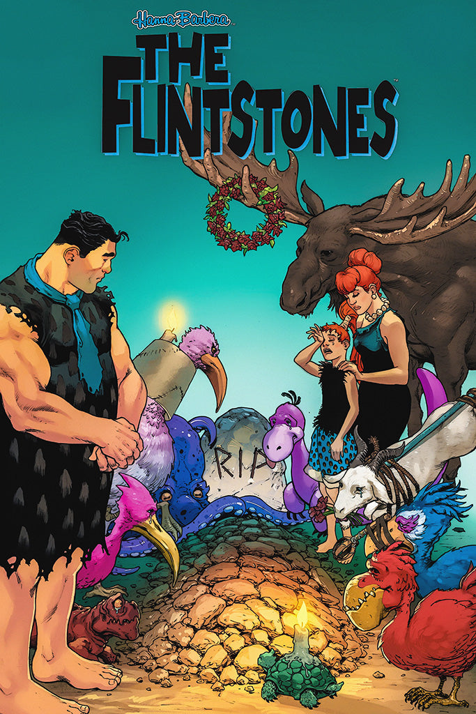 The Flintstones Art Comics Poster