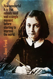 Anne Frank Quote How Wonderful Poster