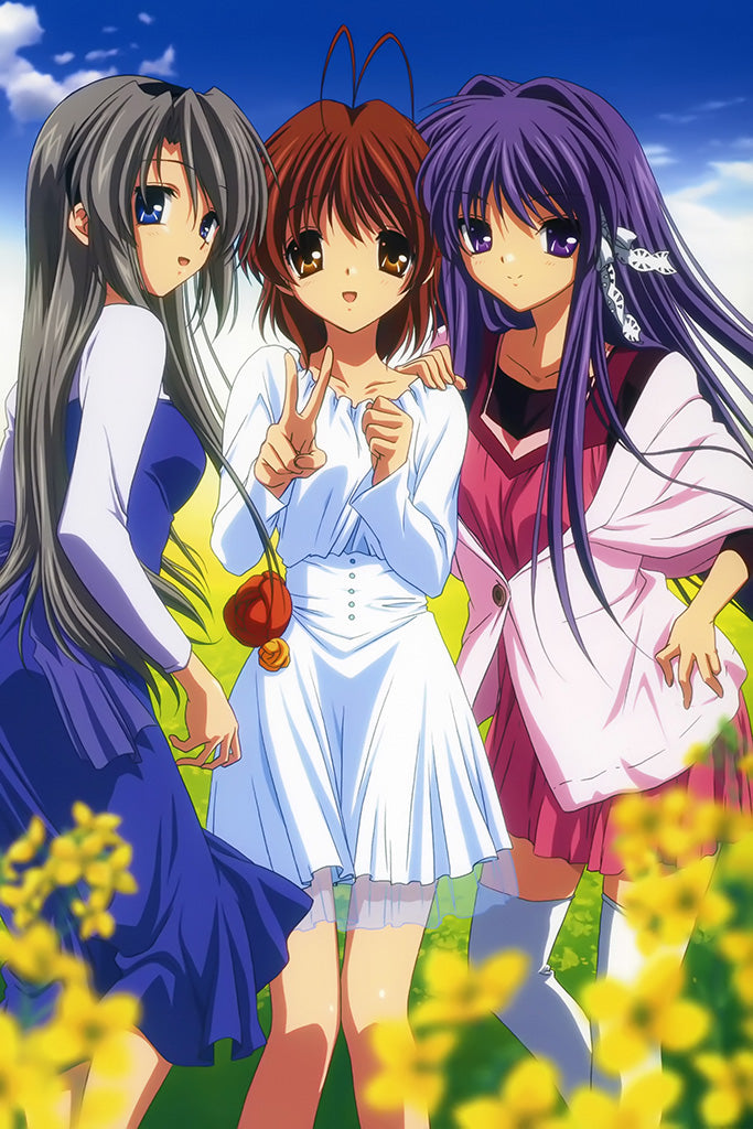Clannad After Story Anime Art Poster