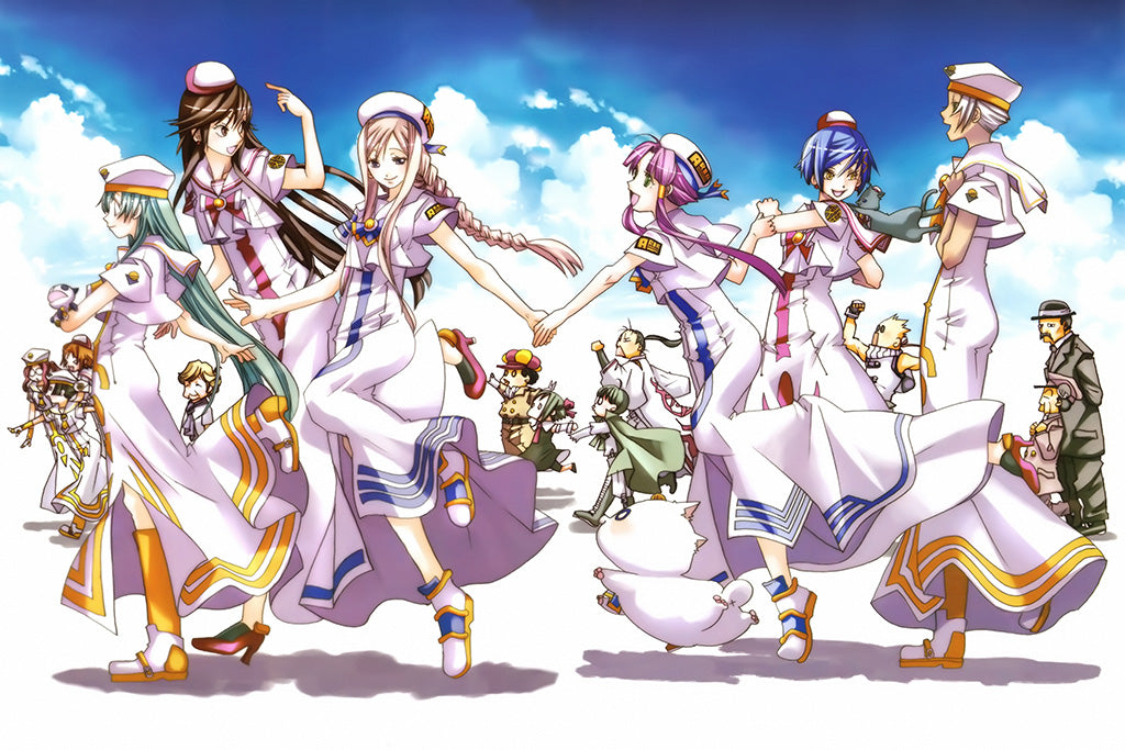 Aria The Origination Anime Art Poster