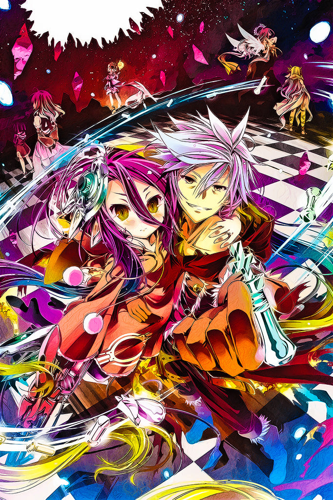 No Game No Life Zero Anime Poster