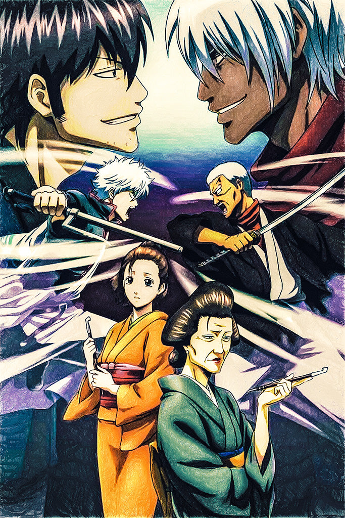 Gintama Yorinuki Gintama-San On Theater 2D Anime Poster