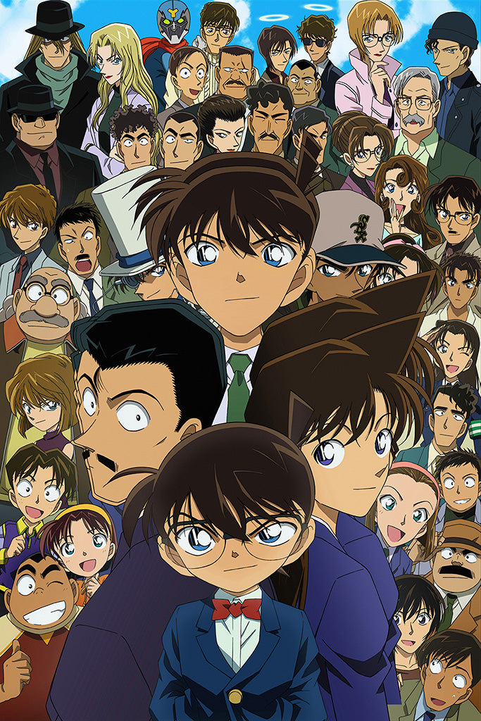 Detective Conan Movie 06 The Phantom Of Baker Street Poster