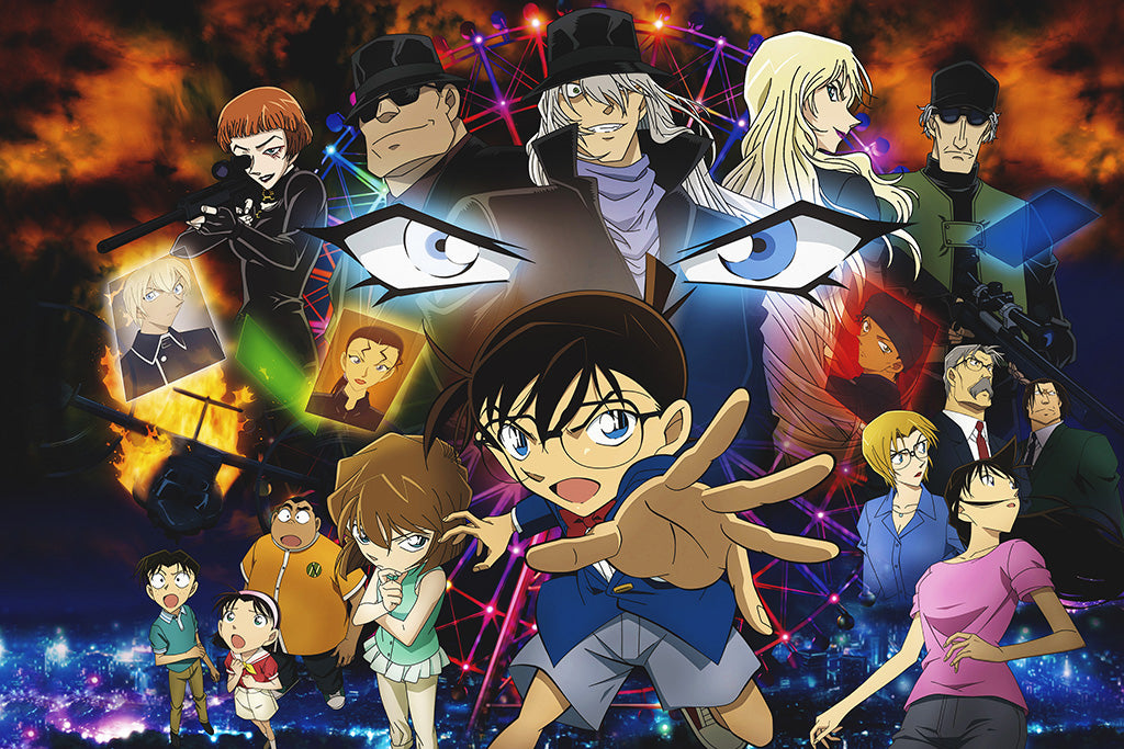 Detective Conan Movie 06 The Phantom Of Baker Street Anime Poster
