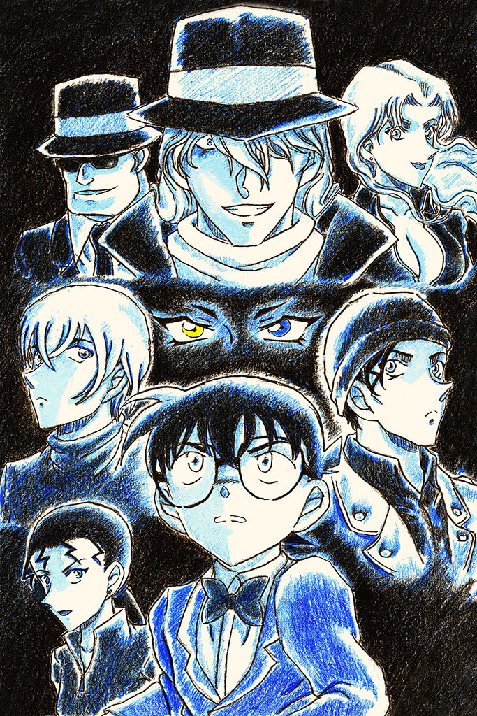 Detective Conan Movie 13 The Raven Chaser Anime Poster