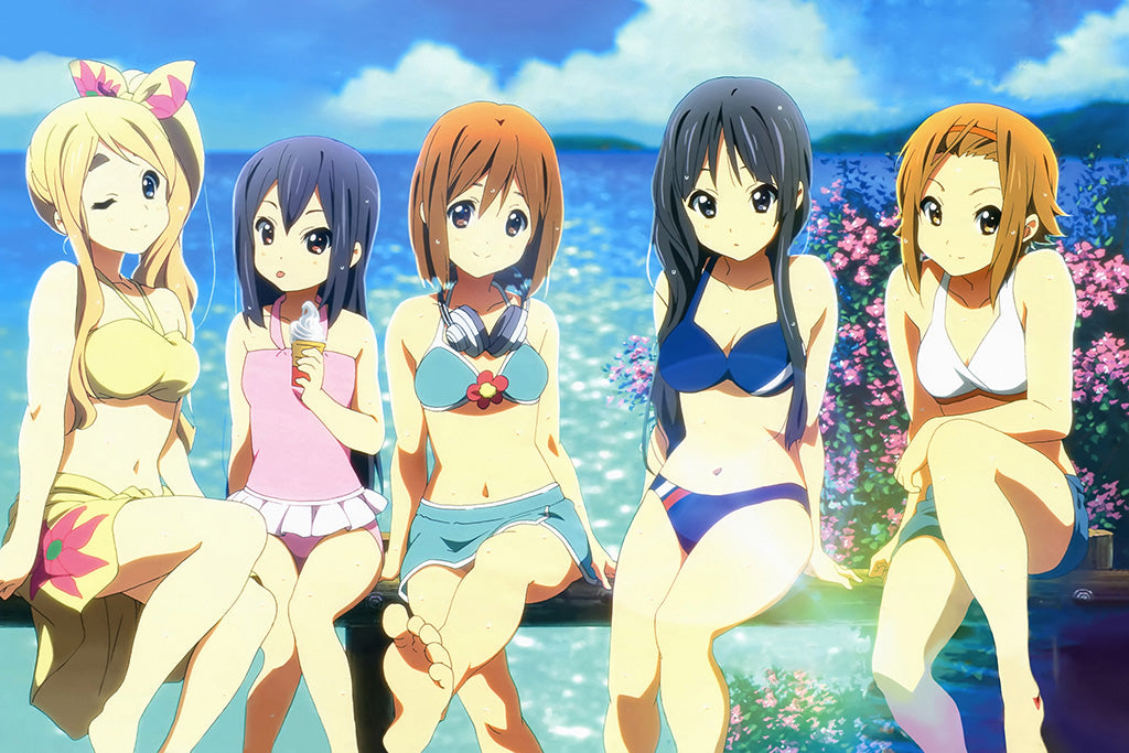 K-On! Movie Anime Art Poster