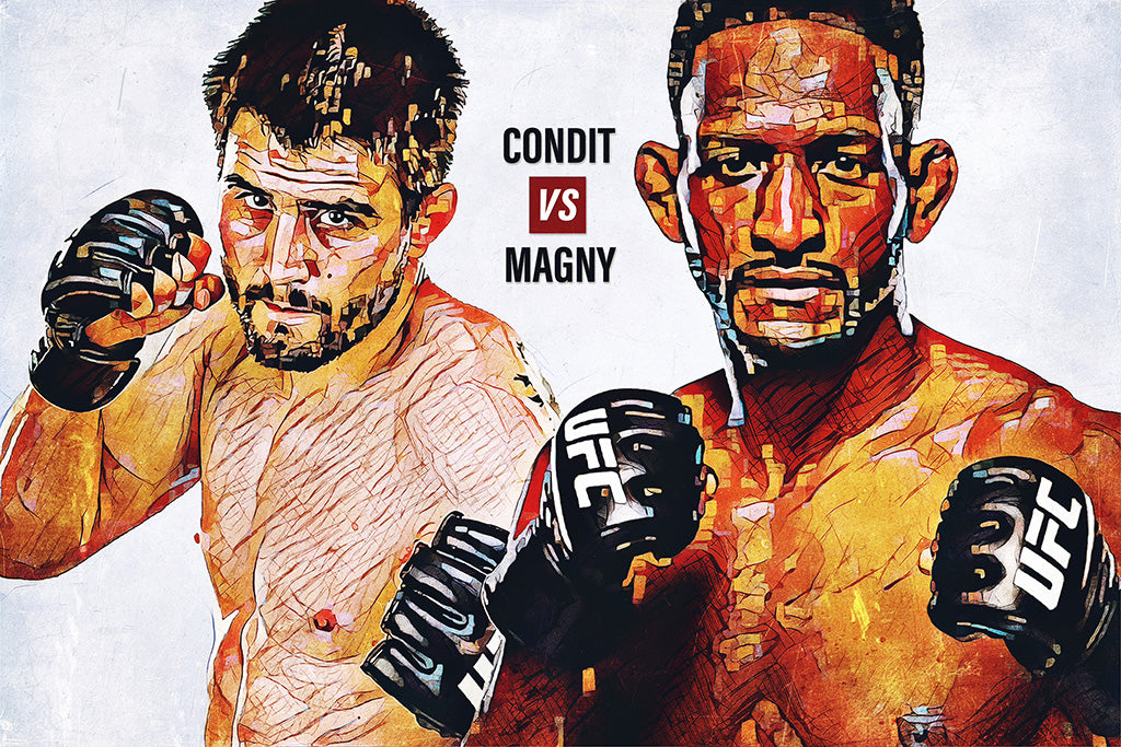 Carlos Condit vs Neil Magny Poster