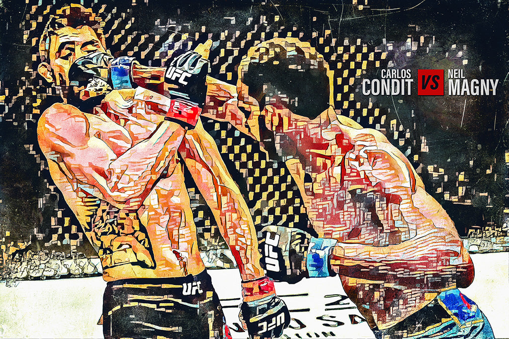 Carlos Condit vs Neil Magny MMA UFC Poster