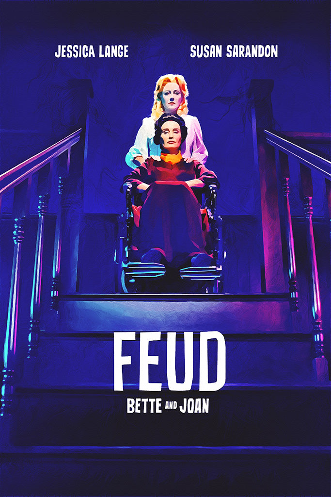 Feud Bette and Joan TV Series Poster