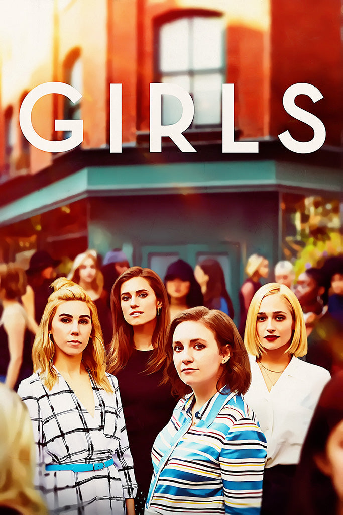 Girls TV Show Poster