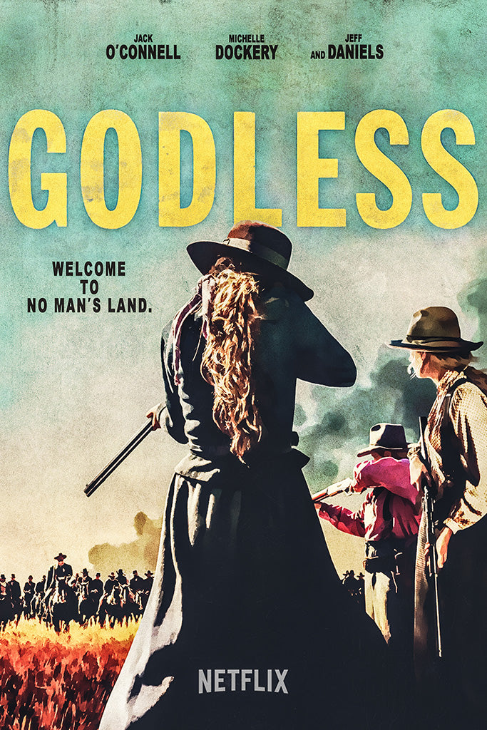 Godless TV Series Poster