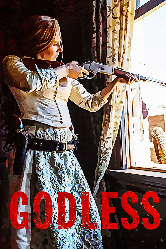 Godless TV Show Poster