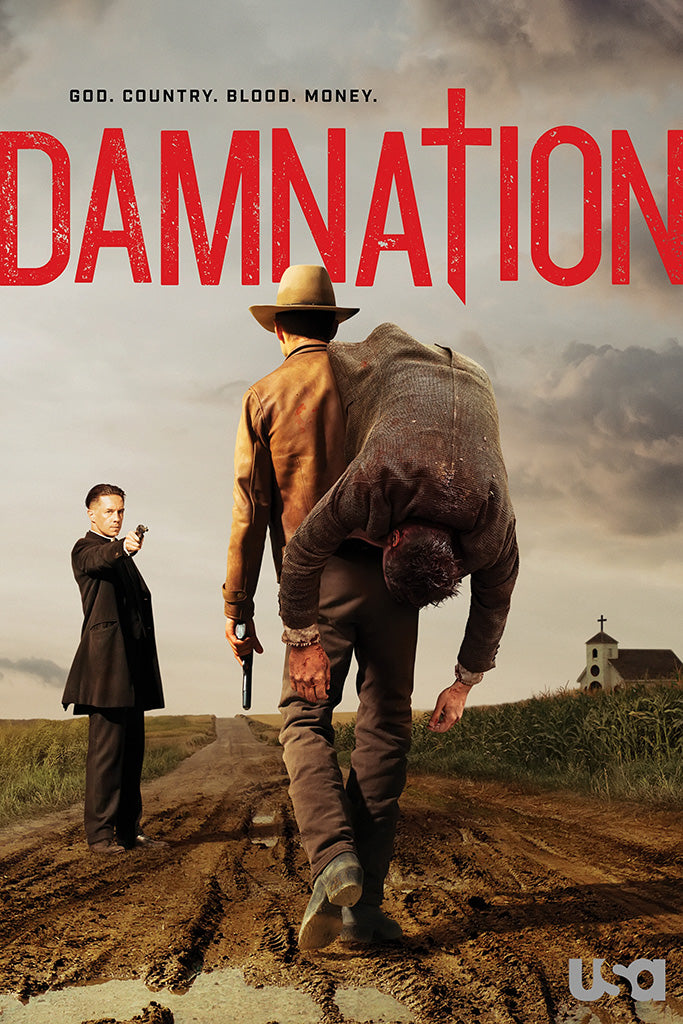 Damnation TV Series Poster