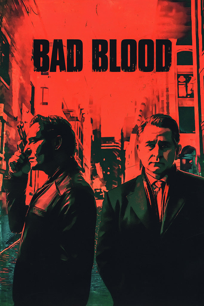 Bad Blood TV Series TV Show Poster