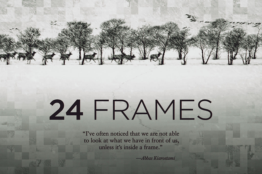 24 Frames Film Movie Poster