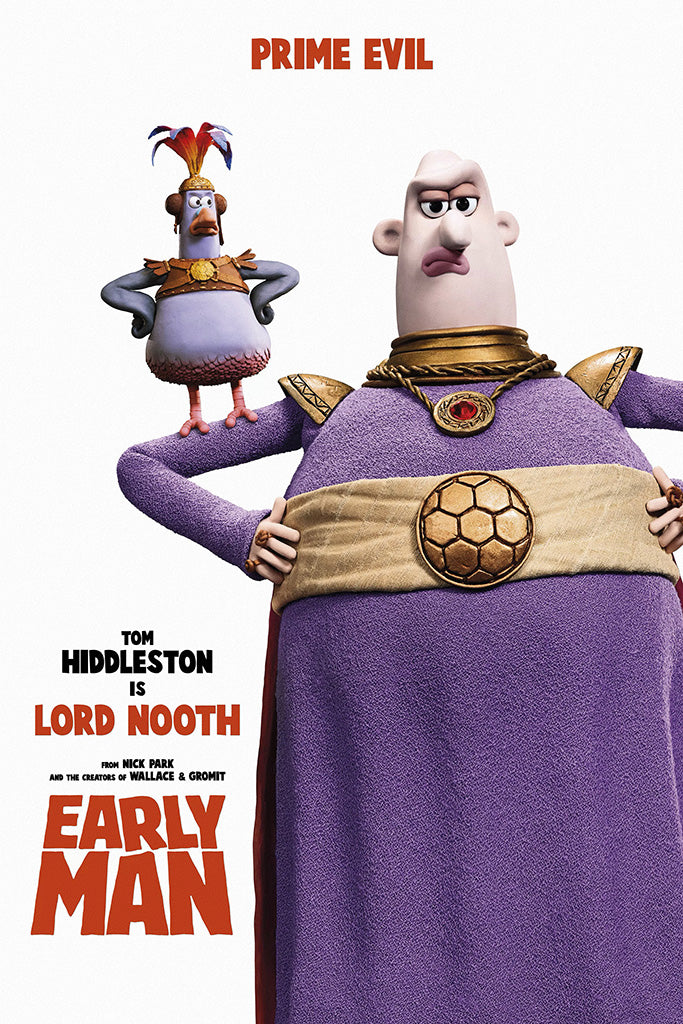 Early Man Film Movie Poster