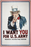 Military Propaganda I Want You (1/7) Poster
