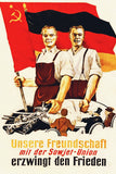 Military Propaganda East German (4/5) Poster