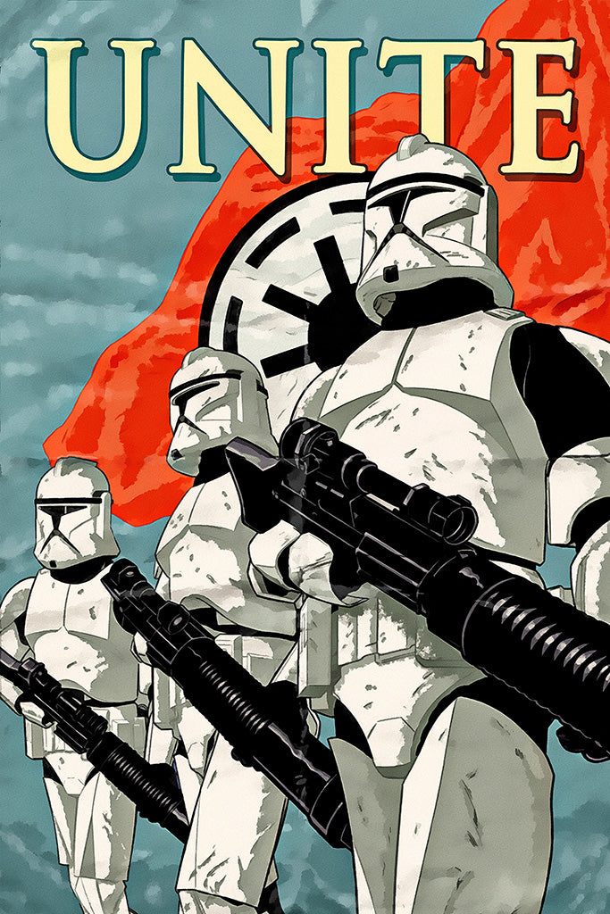 Military Propaganda Star Wars Poster