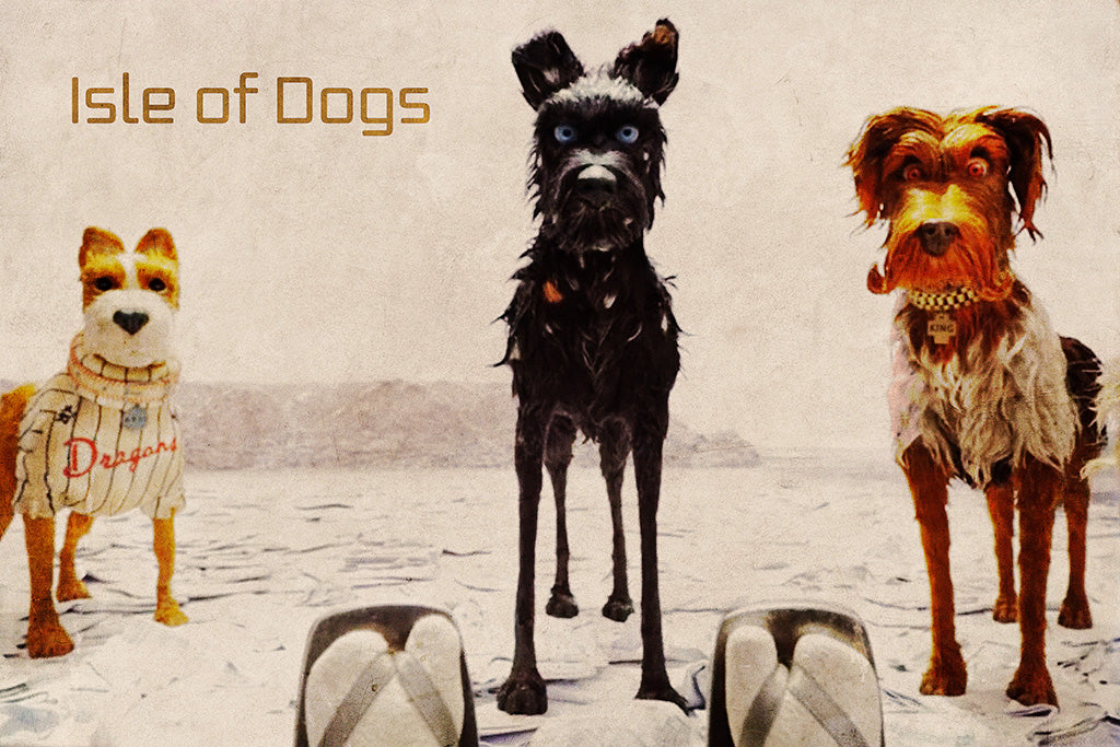 Isle Of Dogs 3 3 Movie Poster My Hot Posters