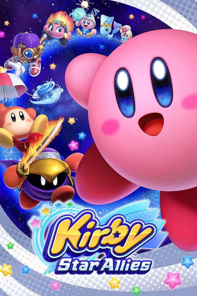 Kirby Star Allies Game Poster