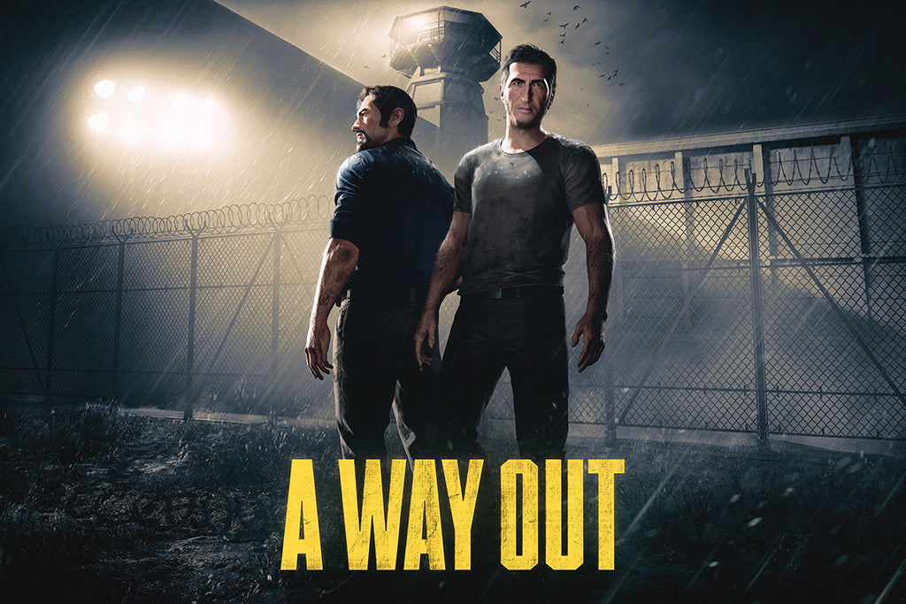 A Way Out Game Poster
