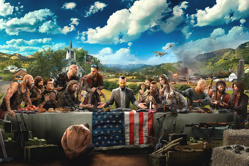 Far Cry 5 Game Poster