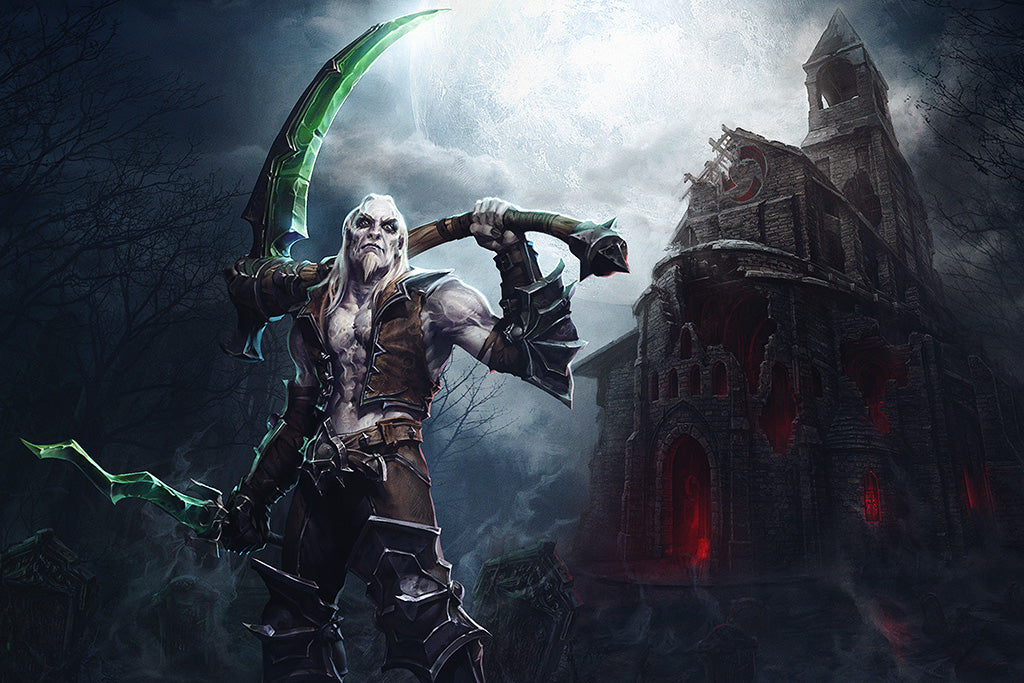 Diablo III Rise Of The Necromancer Game Poster