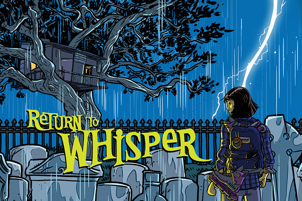 Cult Classic Return to Whisper Comics Poster