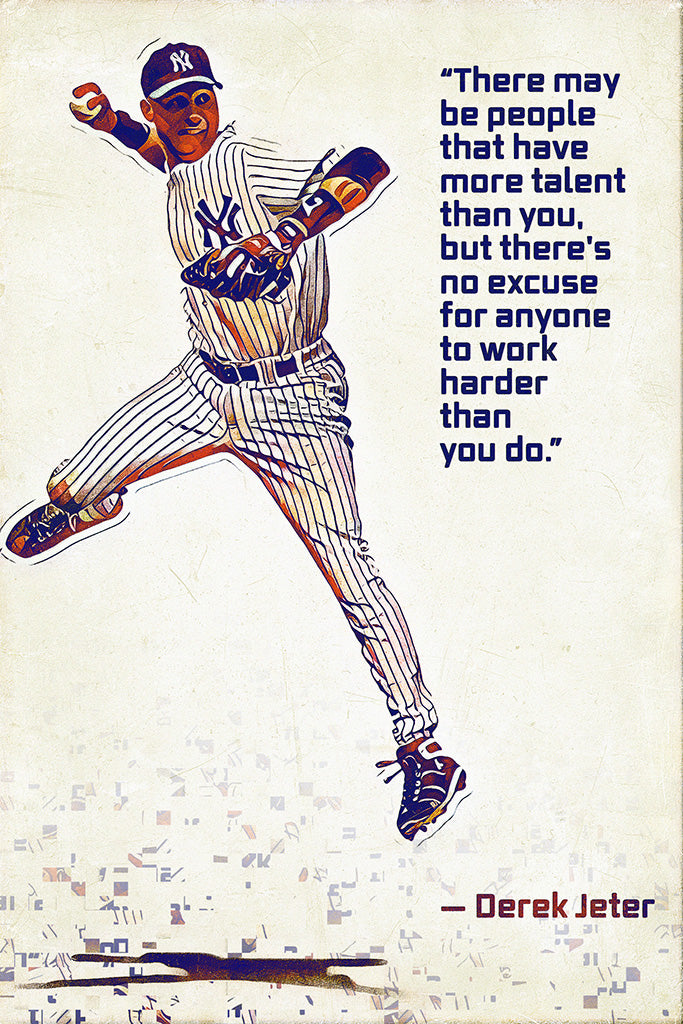 Derek Jeter Quotes Poster My Hot Posters