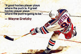 Wayne Gretzky Quotes Poster