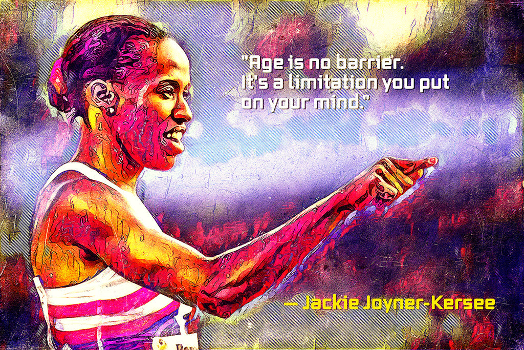 Jackie Joyner-Kersee Quotes Poster