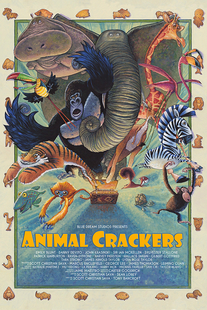 Animal Crackers Movie Poster