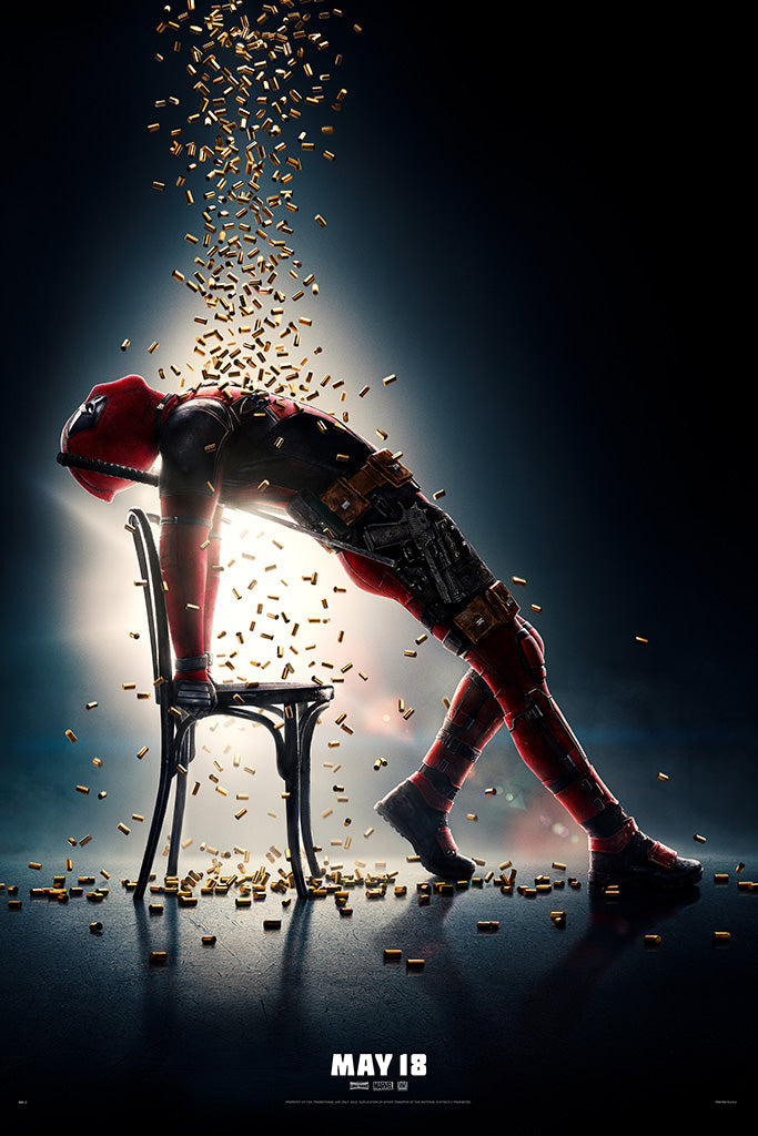 Deadpool 2 Movie Poster 2018