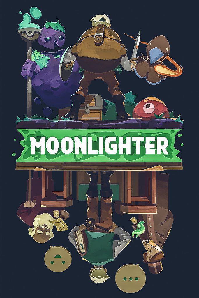 Moonlighter Game Poster 2018