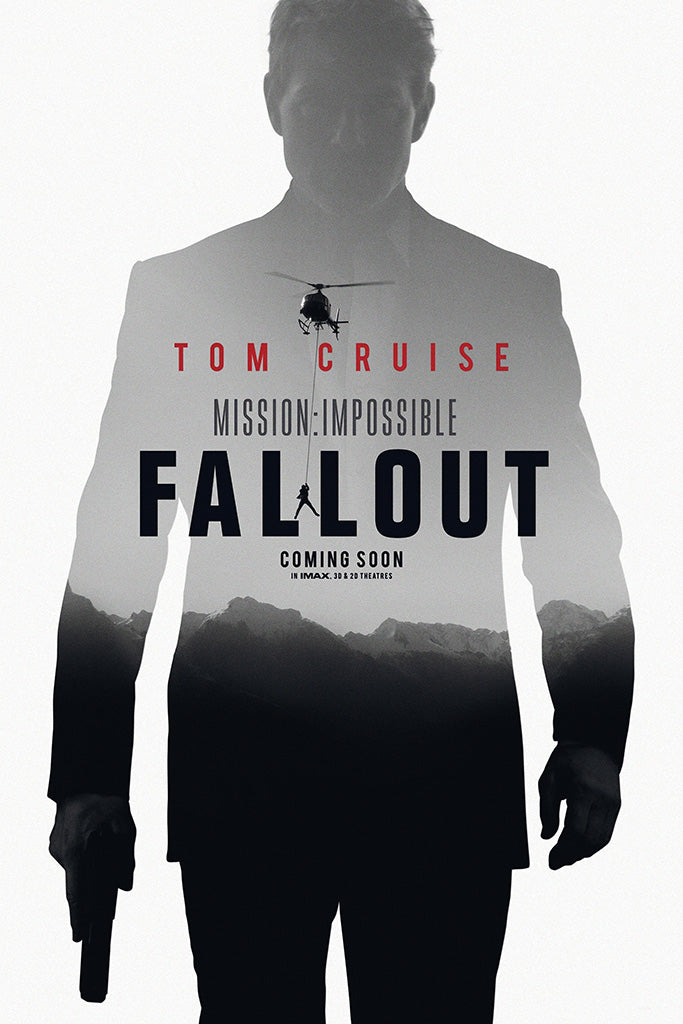 Impossible Fallout Movie Poster July 2018