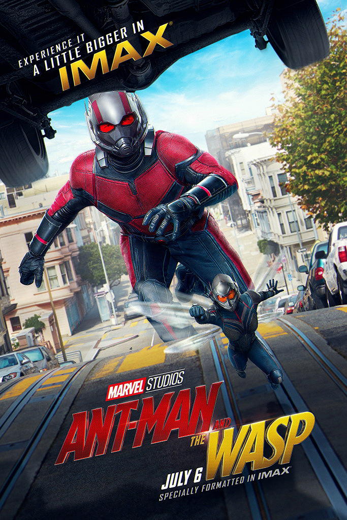 Ant Man And The Wasp Movie Poster July 2018