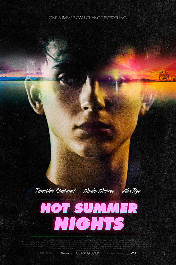 Hot Summer Nights Movie Poster July 2018